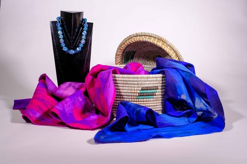 Mode, sjaals 01 | Wereldwinkel Ermelo