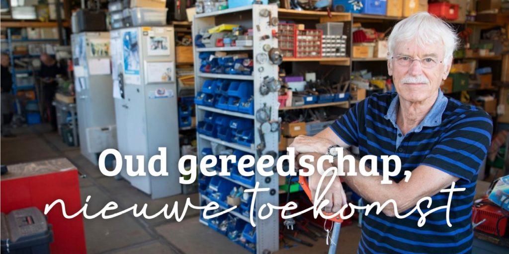 Kopfoto Gered gereedschap | Wereldwinkel Ermelo