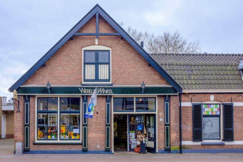 Voorzijde pand Wereldwinkel Ermelo